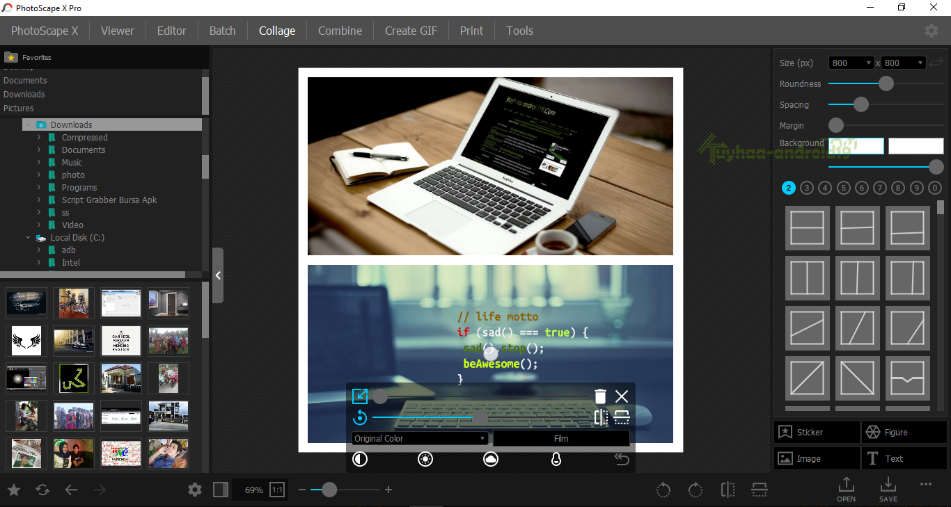 PhotoScape X Pro 2.4.1 x64 Full Version – PC i-tech